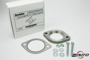 Invidia Oem Down Pipe Downpipe To 3 Exhaust Adapter For Wrx Sti Legacy Forester