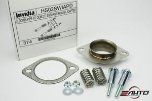 Invidia 3 Down Pipe Downpipe To Oem Exhaust Adapter For Wrx Sti Legacy Forester