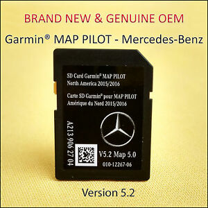 2015 17 Mercedes Benz Sd Card Gps Navigation Glc E C Class Garmin Map Pilot Oem