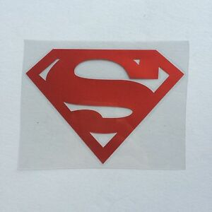 Superman Logo Window Vinyl Decal Sticker Reflect 4 1 2 X 3
