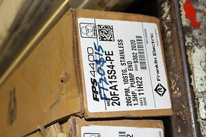 New Franklin Electric Pump End Fps4400 20fa15s4 pe