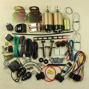 Shaved 2 Door Handle Popper Remote Kit Trunk Kit Included Remmotes 80lbs