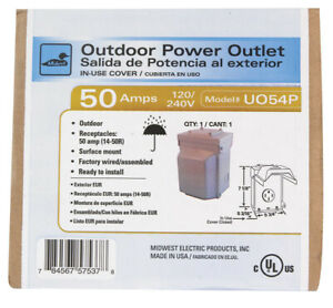 Ge Outlet Panel 50 Amp Boxed