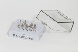 Microdont Usa Mu 10 803 007 Dental Prothesis Multi Use Diamond Burs 12kit