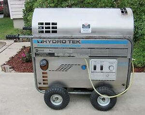 Used Hydrotek Hp12003 e1 Electric Hot Water Pressure Washer