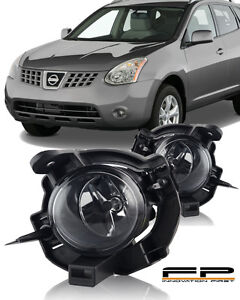 For 2008 2010 Nissan Rogue Fog Light Kit Clear Lens Complete Kit Wiring switch