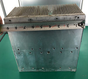 Large Aluminum Extrusion Power Amplifier Amp Heatsink 9 X 9 X 4 5 Mountable