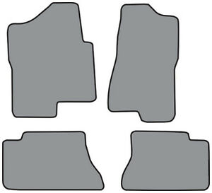 2001 2003 Chevrolet Silverado 1500 Hd Crew Cab Cutpile Carpet Logo Floor Mat 4pc