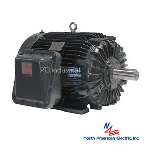 30 Hp Electric Motor 286ts Explosion Proof 3 Phase 3600 Rpm Hazardous Location