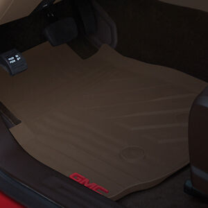 2015 2018 Gmc Canyon Oem Front And Rear Premium All weather Floor Mats Cocoa New