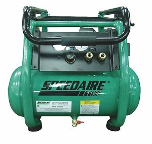 Speedaire 2hp 5 5 Cfm 175 Psi Portable Air Compressor Model 2mlw5