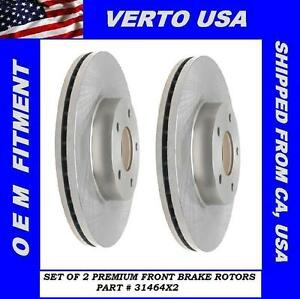 Front Brake Rotors For Nissan Altima 2007 2008 2009 2010 2011 2012 2013