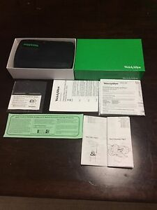 Welch Allyn 3 5v Diag Set Macroview 97150m otoscope ophthalm With Bag 600 Tips