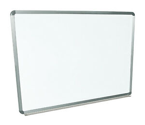 Offex Of wb4836w 48 x36 Wall mounted Whiteboard With free Whiteboard Cleaner