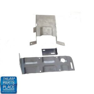 1969 72 Pontiac Cars 8 Track Bracket Set For Cars W O Consoles 3 Pieces