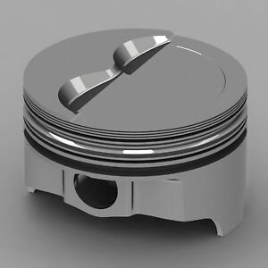 Icon Forged Piston Set Fits Chevy 377 Rod 5 700 Step Dish 15 2cc 2v