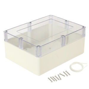 12 6 x9 45 x5 51 abs Junction Box Electric Project Enclosure Clear