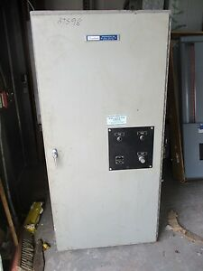 Russ Electric Rmt26030e 260 Amp 120 208 Volt Automatic Transfer Switch Ats98
