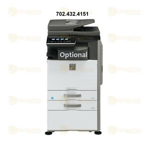 Sharp Mx 2640n Color Laser Multifunction Copier Printer Scanner 26 Ppm A3