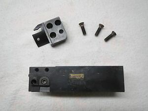 Sandvik Modular Parting Tool Shank Adapter With Blade Rf mbs5 16 Made In Usa
