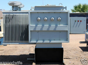 Siemens Three Phase Biotemp Fluid Insulated Substation Transformer 1680 2240kva