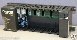 Automation Plc Direct D2 06bdc 1 Direct Logic 205 Koyo 6 slot Base W D2 fill