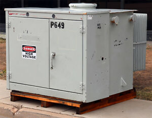 Balteau Standard Prb 0182 Distribution Transformer 300 330kva 4160v 480y 277v