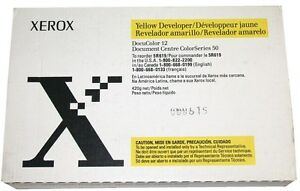 New Genuine Xerox Docucolor 12 Developer Yellow 5r619