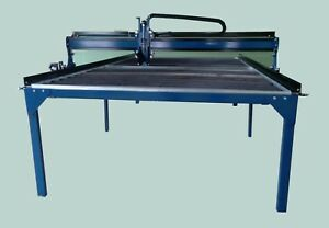 4x8 Cnc Plasma Cutting Table Talon Series With Dell Computer Water Pan