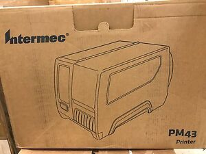 Intermec Pm43 Label Printer Touch Interface Direct Thermal Pm43a11010000211