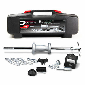 Powerbuilt 15 Pc Slide Hammer Puller Kit 648620