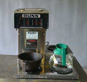 Used Bunn Cwtf 15 Automatic Coffee Brewer 3 Warmers Free Shipping