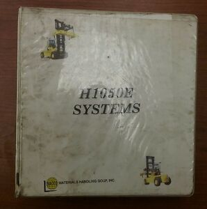 Hyster Forklift H1050 Systems Manual