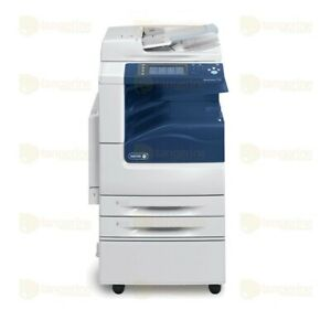 Xerox Workcentre 7125 Color Mfp Copier Printer Scanner 25 Ppm A3 Tabloid 200k