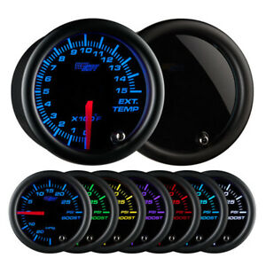 Glowshift Tinted 7 Color 1500 F Pyrometer Egt Gauge Gs T7081500