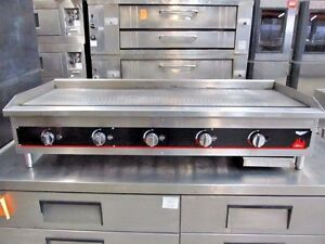 Volltrath Commercial Kitchen 60 Gas Flat Top Griddle Grill