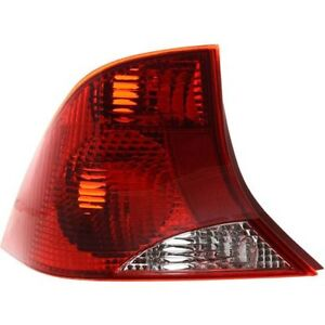 New Fo2800153 Driver Side Tail Light Sedan For Ford Focus 2000 2003