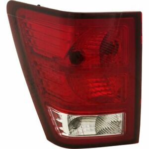 New Ch2800172 Driver Side Tail Light For Jeep Grand Cherokee 2007 2010