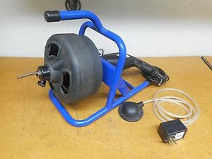 Cobra Products 651 lx0500 Lx500 Drain Cleaner 50 Cable 5 16 120v 720rpm Used