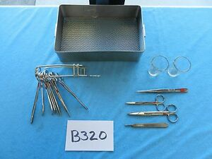 Weck Surgical Urology Urinotomy Instruments With Tray