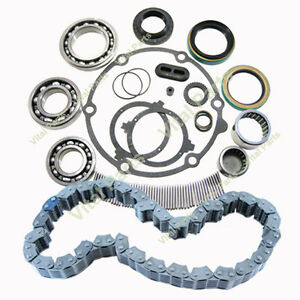 Jeep Grand Cherokee Transfer Case Rebuild Bearing And Chain Kit Np 247 1999 04