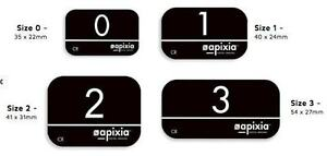 New 4 Pk Apixia Psp Phosphor Plate Works W Scanx Air Techniques