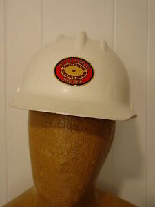 Vintage 1980s Hard Hat Bullard Hard Boiled L e Myers Co