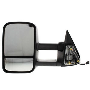 Chevy Pickup Truck Power Heat Telescopic Performance Tow Mirror Left Driver Side