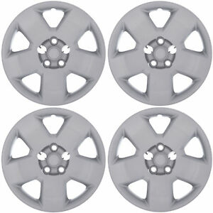 4pc 05 11 Dodge Charger Magnum 17 Inch Silver Bolt On Wheel Cover Hub Caps Skin
