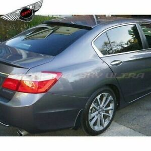 380cambo Rear Byw Roof Oe Trunk Spoiler Painted For Honda Accord Sedan 2013 16