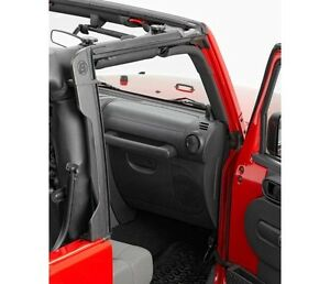 Bestop Door Surrounds Set Factory Replacement For Jeep Wrangler 55010 01