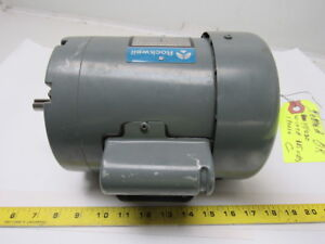 Rockwell 438 02 314 0686 1 2hp 1ph 115 230v 1725rpm Electric Motor