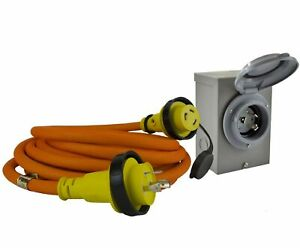 Conntek Gibl530 025 Duo rainseal Kit 30 Amp Transfer Switch Cord generator Exten