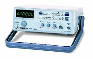 Gw Instek Sfg 1013 Dds Function Generator With Voltage And 6 Digit Led Display